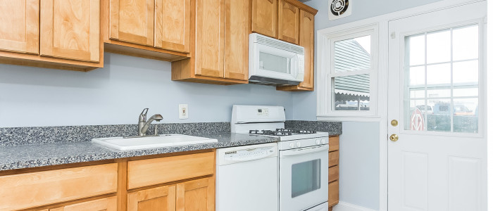 updated kitchen in parkville home for sale