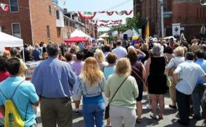 festival in Little Italy