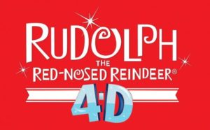 Rudolph the red-nosed reindeer in 4D