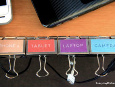 organize your power cords