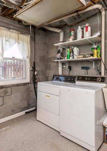 3 Kintore Ct. laundry area
