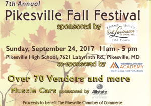 fall festival in pikesville