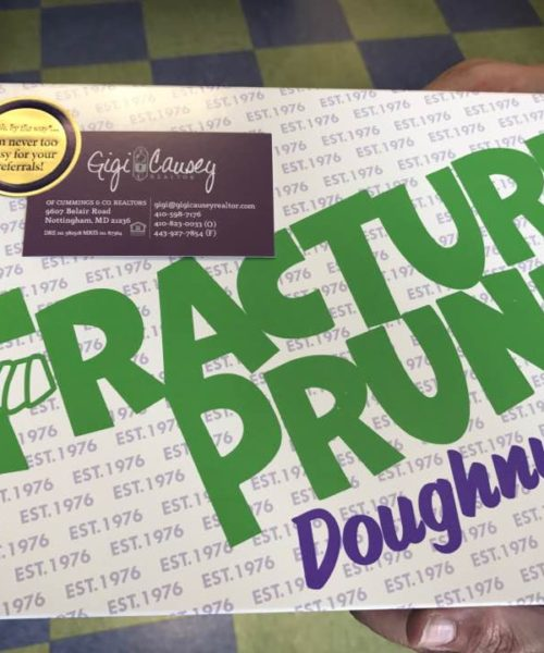 thanks to the fractured prune for hosting the donut party