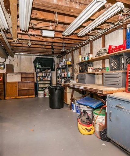 6819 Eastbrook Ave. basement workshop