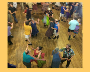 Folk and square dancing