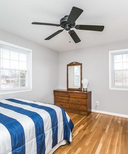 213 Rickswood Road bedroom 1 ceiling fan