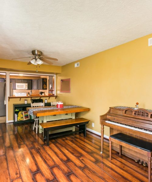 32 Left Wing Drive dining room piano