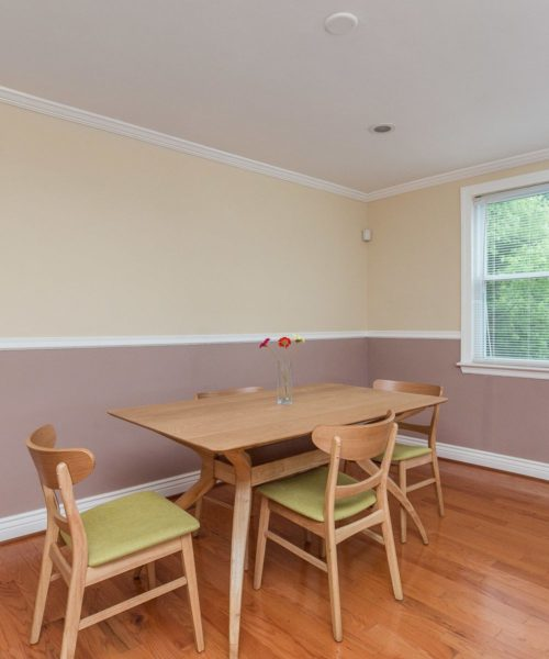 1021 East Lake Avenue dining room
