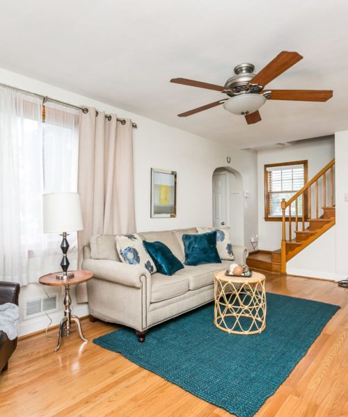 4416 Springwood Ave. living room ceiling fan