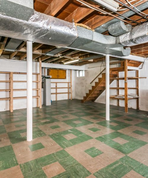 4416 Springwood Ave. basement