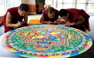 Calendar of June Events sand mandala