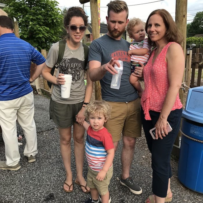 Kona Ice, family time