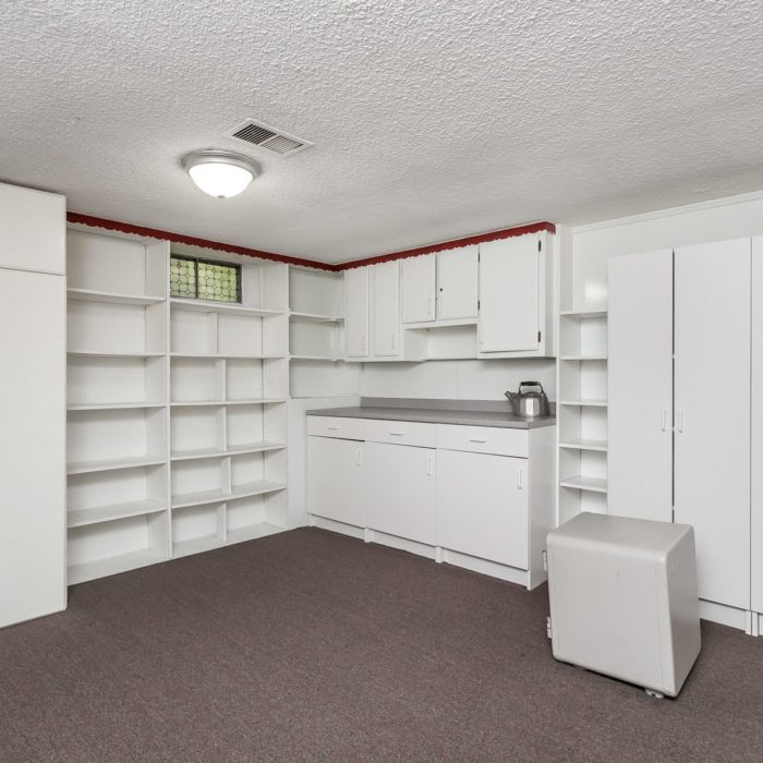 201 Janet Ct. basement cabinets