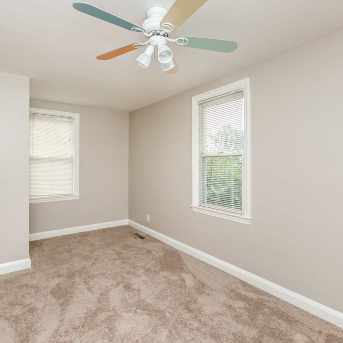 34 Elinor Ave. bedroom 3 with ceiling fan