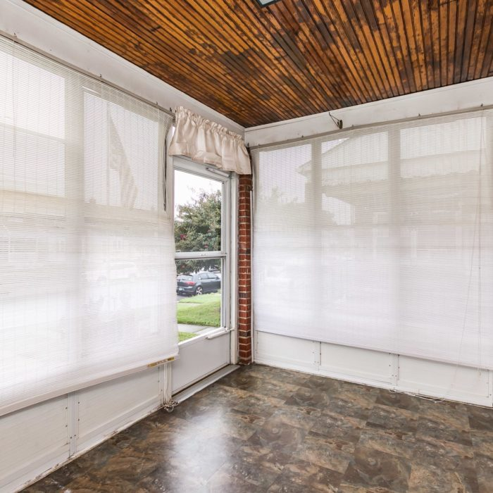 7830 Charlesmont Rd. enclosed front porch