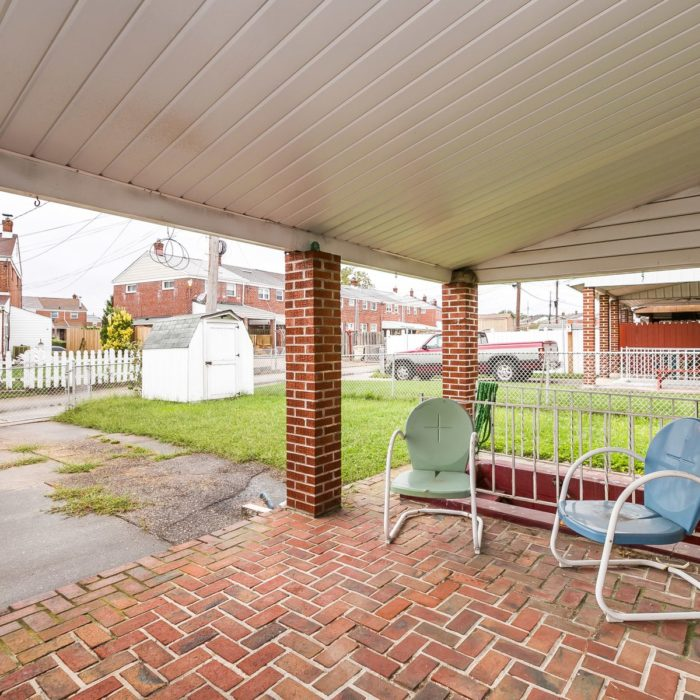 7830 Charlesmont Rd. brick patio