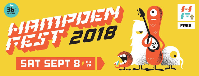 Hampden Fest in September 2018