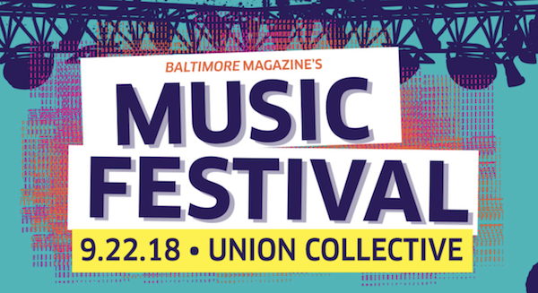 Music Festival, Union Collective in Baltimore September 22