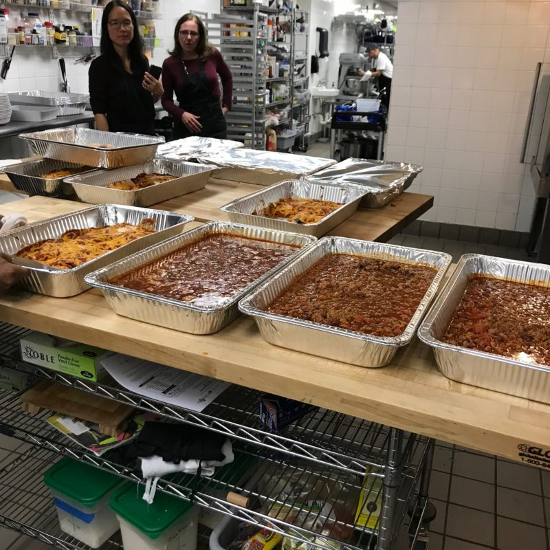 Feed the Community lots of food for homeless veterans