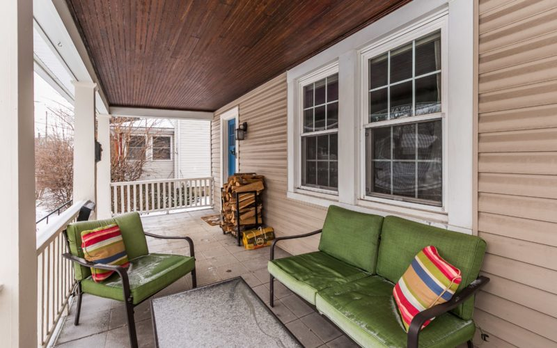 5804 Clearspring Road, front porch