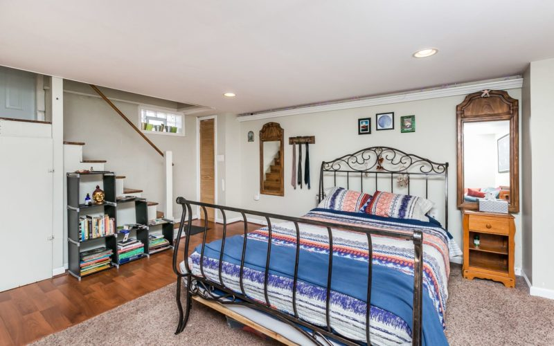 3501 Northway Drive basement can be used as a bedroom