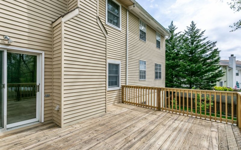 8673 Castlemill Circle, outdoor deck
