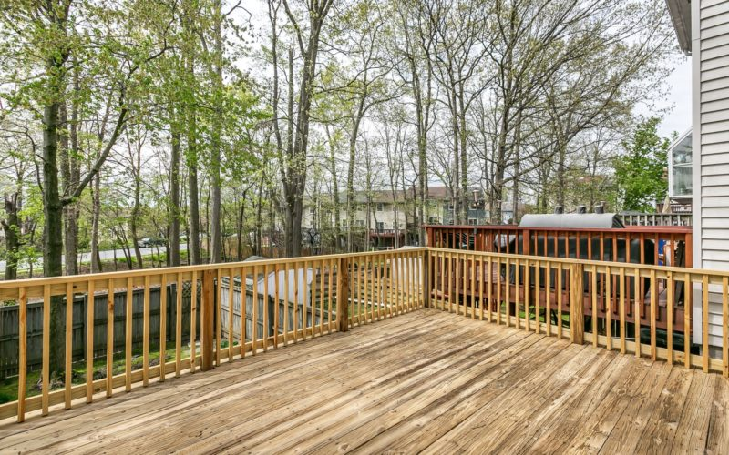 8673 Castlemill Circle, deck with a view