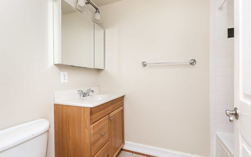 2012 Gough Street, bathroom with vanity and shower