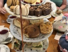 tea party at Emma's Tea Spot, delicious treats