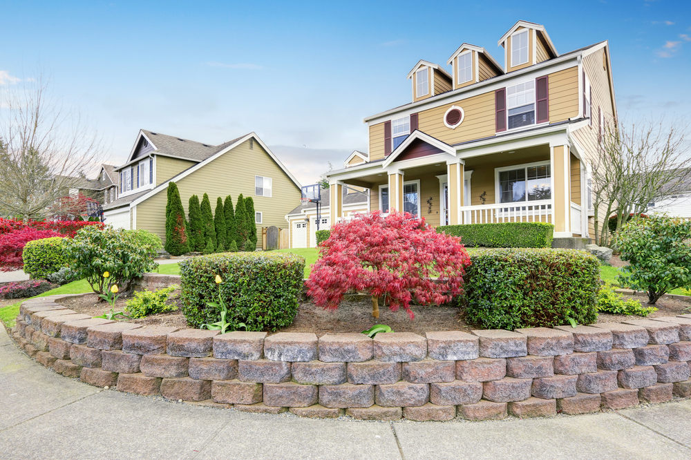 Adding curb appeal will help sell your home faster.