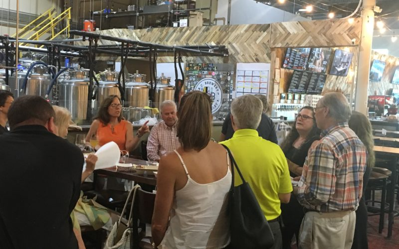 B.C. Brewery quarterly networking, conversation was informative