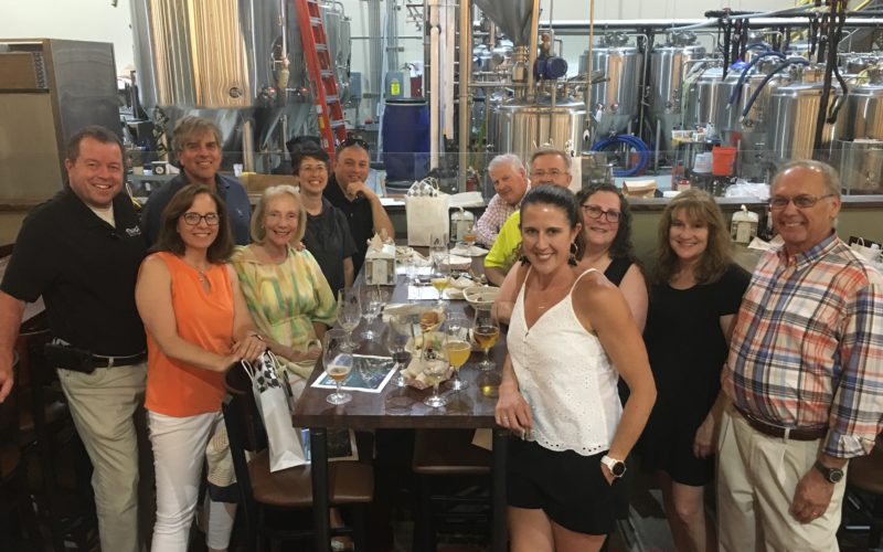 B.C. Brewery quarterly networking, group photo
