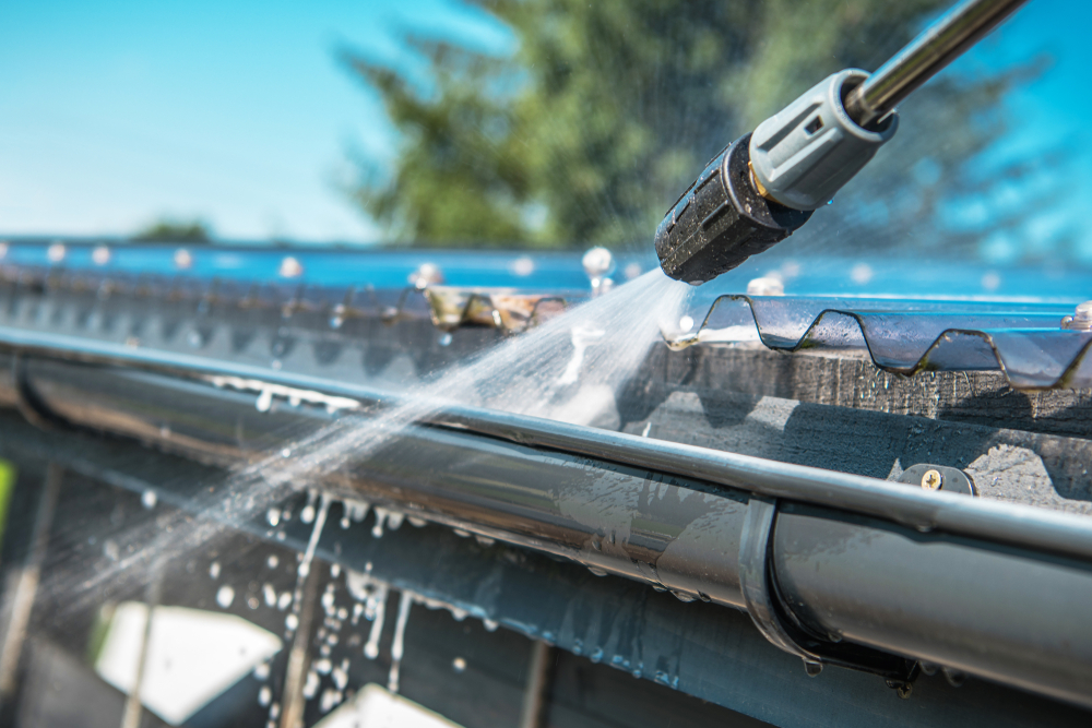 Make your gutters last as long as you possibly can by taking care of them.