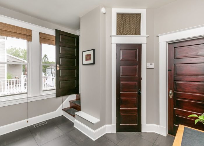2603 Gibbons Avenue, beautiful wooden doors