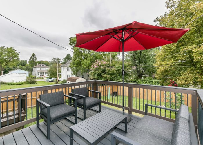 2603 Gibbons Avenue, deck and view