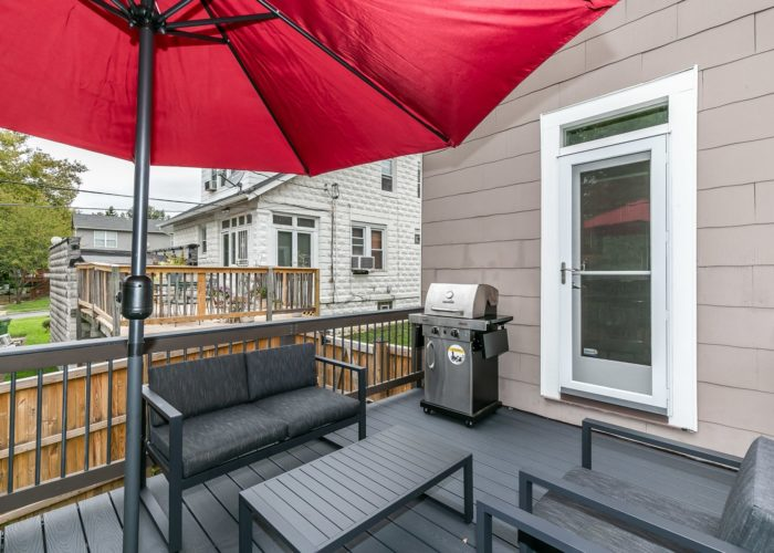 2603 Gibbons Avenue, deck