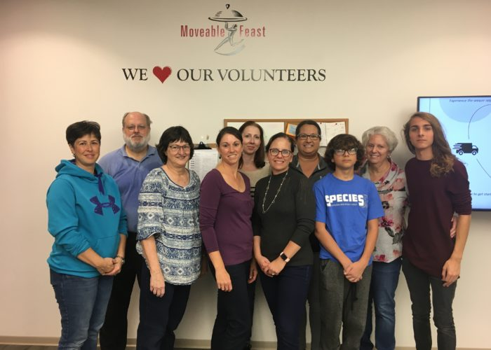 moveable feast volunteers