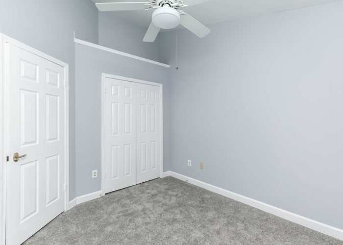 25 Stablemere Ct., 2nd bedroom with ceiling fan