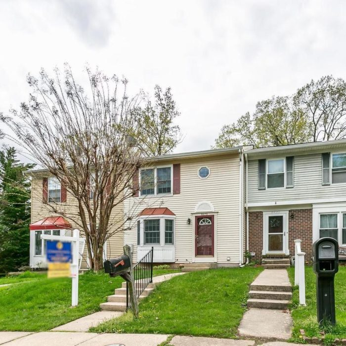 Home sales, cheery townhome