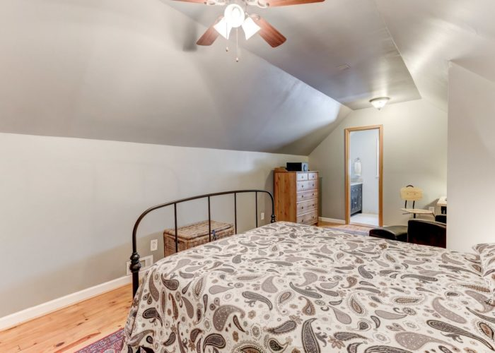 3349 Acton Road, master bedroom with ceiling fan