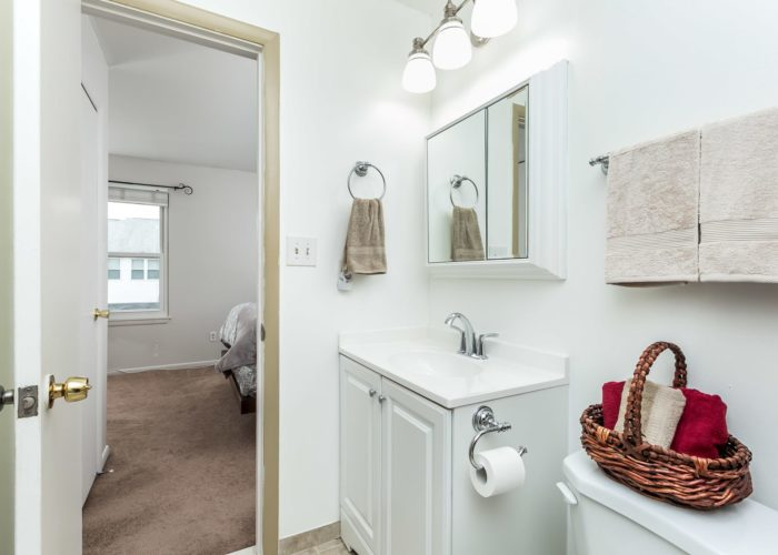 36 Nakota Court, bathroom with sink and light fixtures