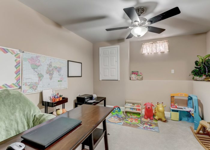 552 W. Woodlynn Road, basement playroom