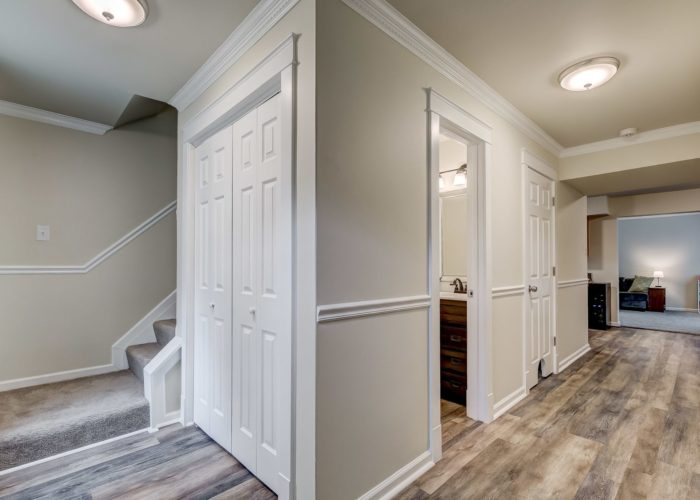 3009 Lilac Court, first floor with stairs leading up