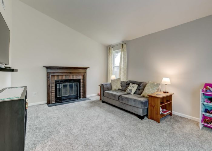 3009 Lilac Court, living room fireplace
