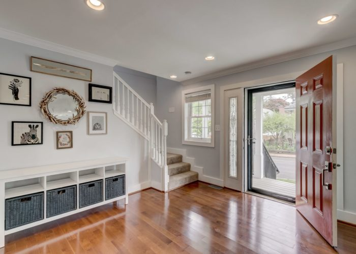506 Locksley Road, enter this beautiful home