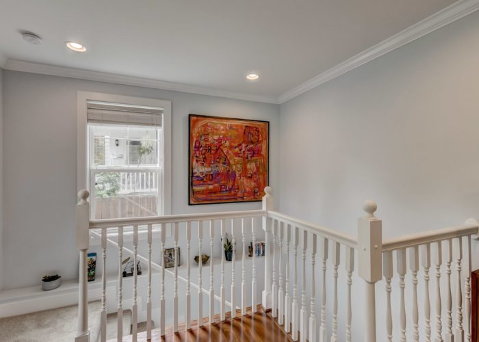 506 Locksley Road, stairs leading to second floor
