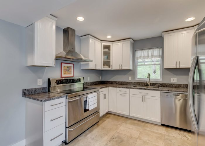 506 Locksley Road, kitchen with cabinets