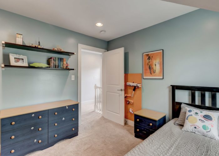 506 Locksley Road, bedroom four with shelves