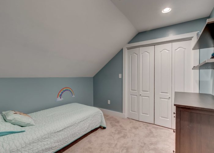 506 Locksley Road, bedroom three with closets