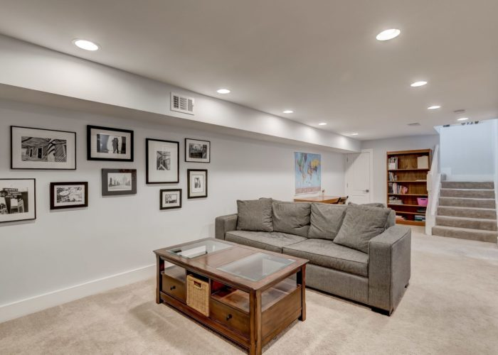 506 Locksley Road, basement rec room